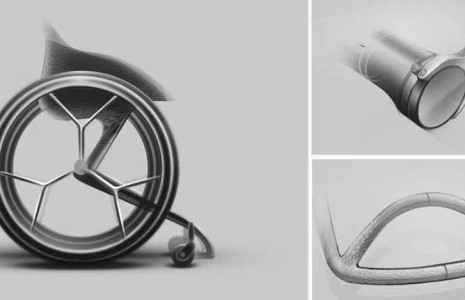Go! The 3D printed wheelchair for mass production