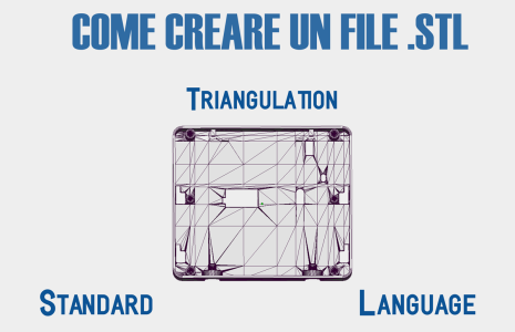 Create a .stl file with an infographic!